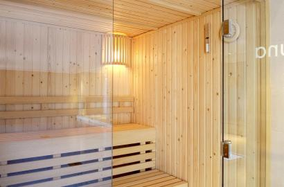 Relax in our sauna at Audley Club at Chalfont Dene