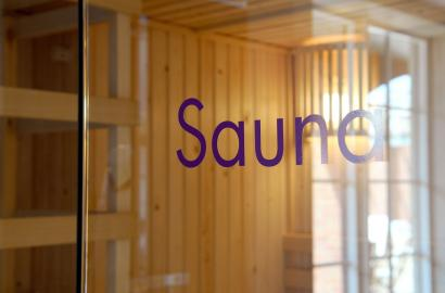 Our sauna at Chalfont Dene