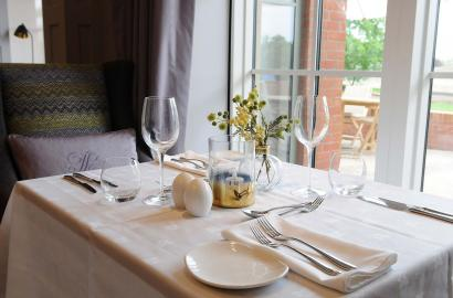 Immaculate service at Lytton Restaurant