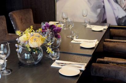Best dinner in a stylish interior